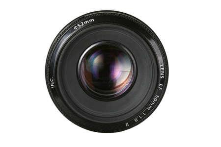 fix photo lens with umbrella reflection