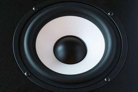 One audio speaker horizontal close up view Stock Photo - 1141685