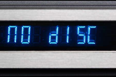 Blue OLED display show no disk