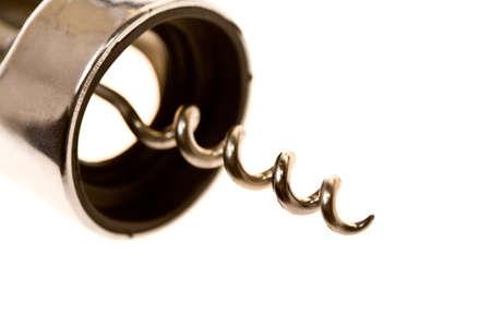 close up metal corkscrew Stock Photo - 8838665