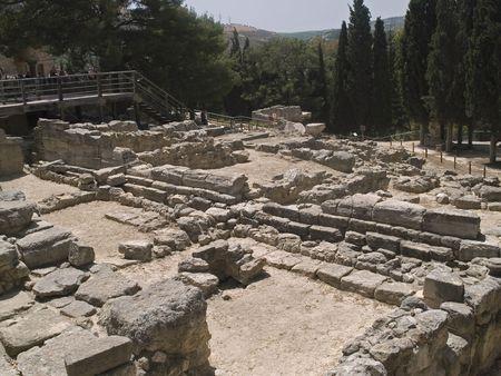 Knossos palace        photo