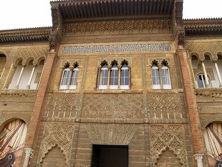 alcazar: Sevilla -  Alcazar         Stock Photo