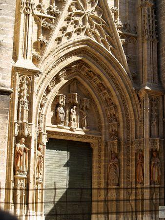sevilla: Sevilla - kathedraal          Stockfoto