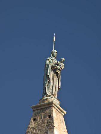 arles: Arles - Notre Dame de-la-Major Stock Photo