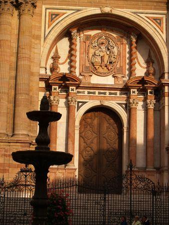 Malaga Cathedral Stock Photo - 5119135