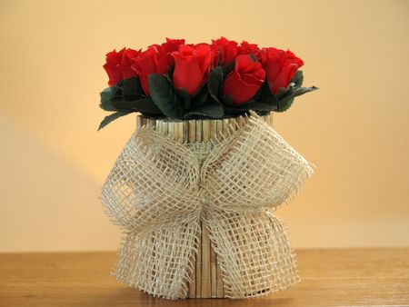 roseleaf:  Bouquet Red Rose        Stock Photo