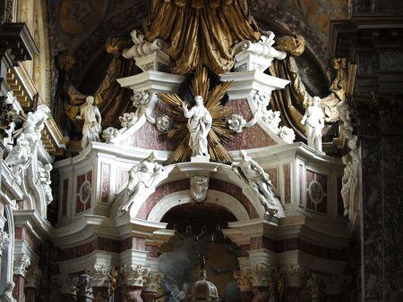 sibyl: Chiesa degli Scalzi interior - Venice, Italy