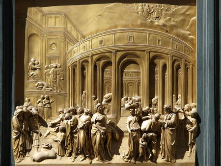 Baptistery - Florence . The door of paradise