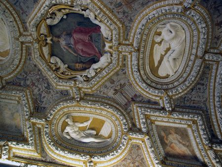 doges: Picture of a decorated Ceilings in the Doges Palace Venice