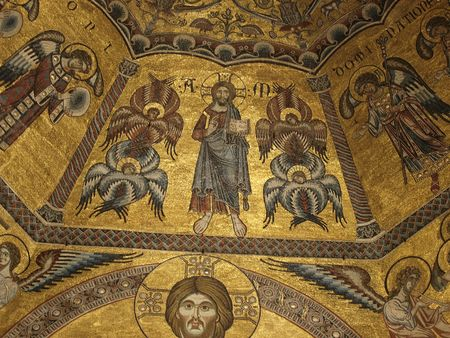 Baptistery of Florence - View of the mosaic ceiling