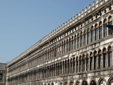 vecchie: Procuratie Vecchie on the north side of the St Marks Square