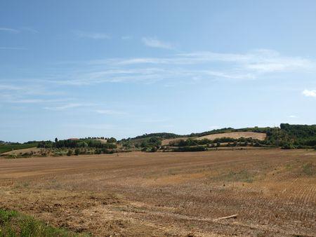 volterra: Tuscan landscape nearby Volterra