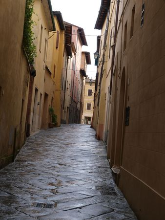 Chiusi - one of the most ancient Etruscan towns in Tuscany, Italy photo
