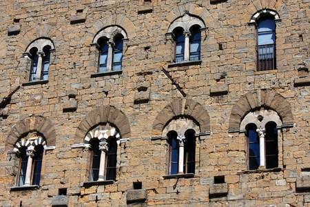 priori: Beautiful ancient windows - Tuscany, Italy