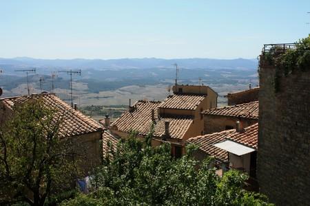 volterra: Volterra - Medieval pearl of Tuscany Stock Photo