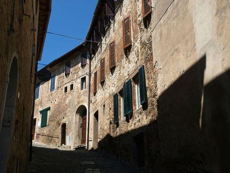 montalcino: Medieval Town In Montalcino Area, Tuscany, Italy Stock Photo