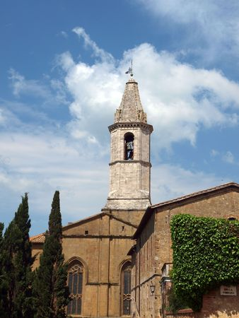 Pienza - a city with a delicious cheese and  a rare example of Renaissance town design.  photo