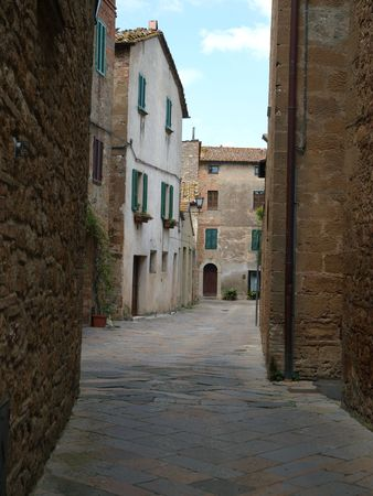 residental: The town of Pienza is a small pearl in the Tuscan countryside.