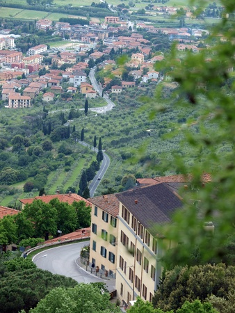 Cortona, the Tuscan town of Etruscan origin photo