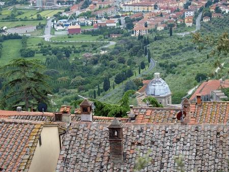 etruscan:  Cortona, the Tuscan town of Etruscan origin