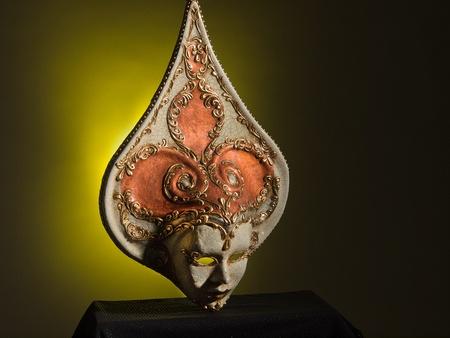 magical-looking old Venetian mask