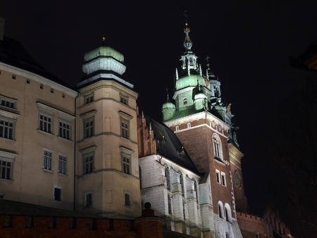 cracow: Castel Wawel in Cracow, Poland
