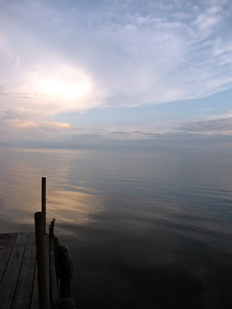 Lake Baikal - the deepest and among the clearest of all lakes in the world. photo