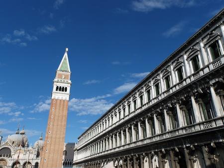 nuove: Venice - The Procuratie Nuove and Campanile