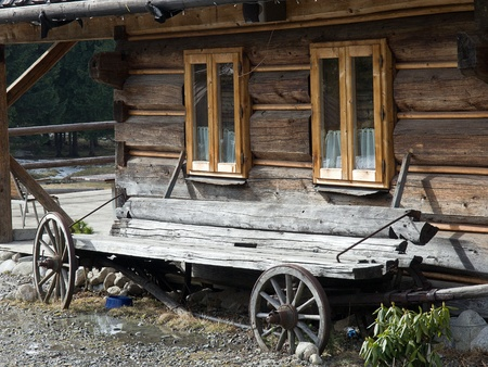 Old wooden house Stock Photo - 9331311