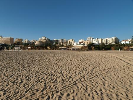 rocha:  Beach of Praia da Rocha in Portimao, Algarve Stock Photo