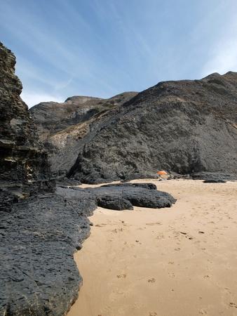 praia: Praia do Castelejo, near Vila Do Bispo, Algarve, Portugal