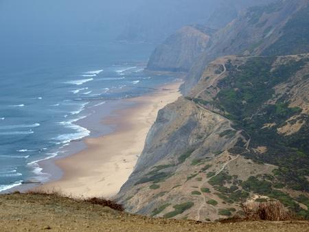 praia: Praia do Cordoama near Vila Do Bispo, Algarve, Portugal Stock Photo