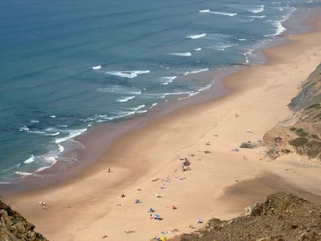 Praia do Cordoama near Vila Do Bispo, Algarve, Portugal Stock Photo - 9733138