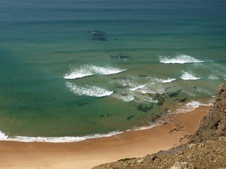 Praia do Cordoama near Vila Do Bispo, Algarve, Portugal photo