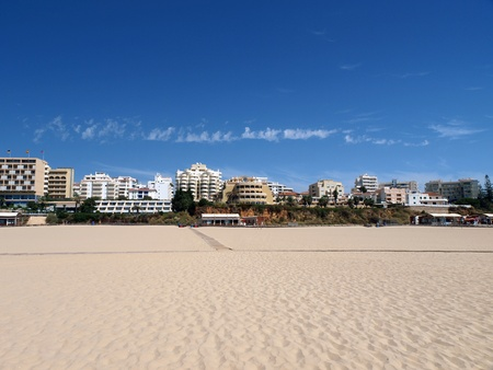 vilamoura: One of the most beautiful beaches in the world - Praia da Rocha in Portimao, Algarve, Portugal