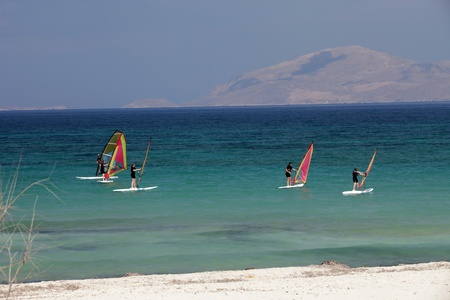 dodecanese: Mastichari beach on Kos Island, Dodecanese  Editorial