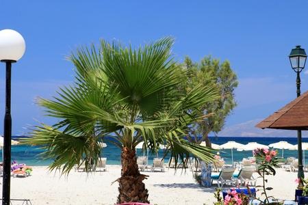 Mastichari beach on Kos Island, Dodecanese 版權商用圖片