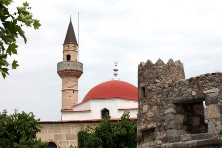kos: Mosque in the city of Kos  . Kos island, Dodecanese.
