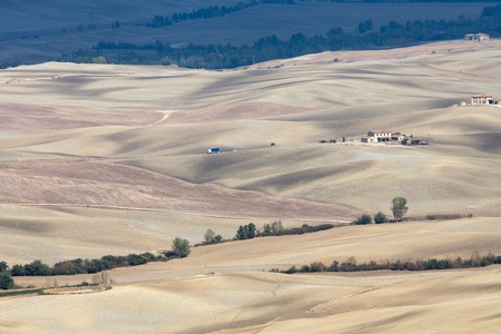 The landscape of the  Tuscany. Italy Stock Photo - 11471489