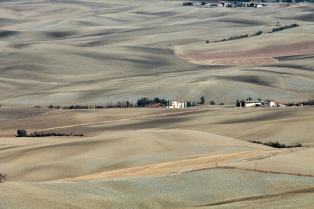 valdorcia: The landscape of the  Tuscany. Italy