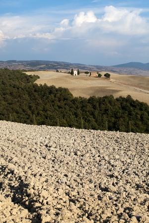 val dorcia: Cappella di Vitaleta , Val dOrcia in Tuscany