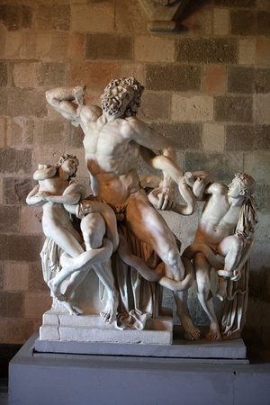 grand sons: Laocoon and His Sons - The Palace of the Grand Master of the Knights of Rhodes