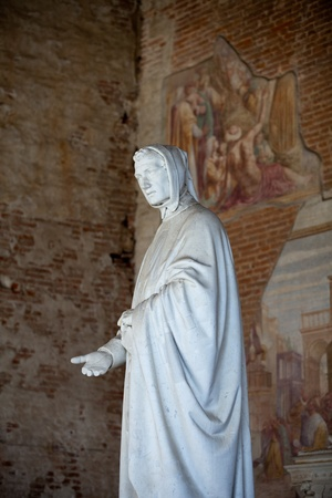 monumental cemetery: Pisa - Camposanto - Cemetery was constructed in 1278 to house the sacred dirt brought back from Golgotha during the Crusades. It then became the burial place of the Pisan upper class Editorial