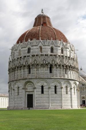 Pisa - Baptistry of St. John in the Piazza dei Miracoli