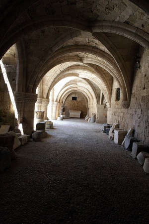 apses: Rhodes - the medieval building of the Hospital of the Knights.At present Archaeological museum .