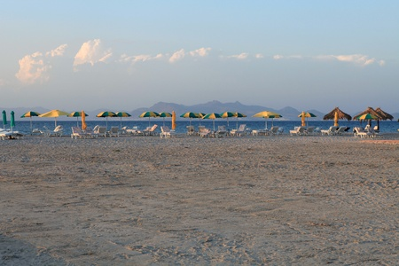 kos: Greece. Kos island. Tigaki beach.