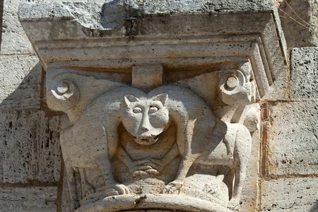 Sant Antimo Abbey near Montalcino in Tuscany, Italy Stock Photo - 12136427
