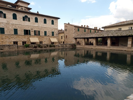 spa resort in europe bagno vignoni in tuscany spa known for the middle ages