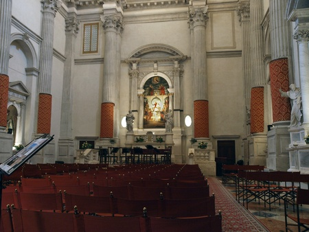 sestiere: Venice - Church of San Vidal,. Sestiere of San Marco