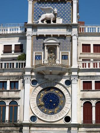 clock of the moors: Venice, Torre dellOrologio - St Mark Editorial